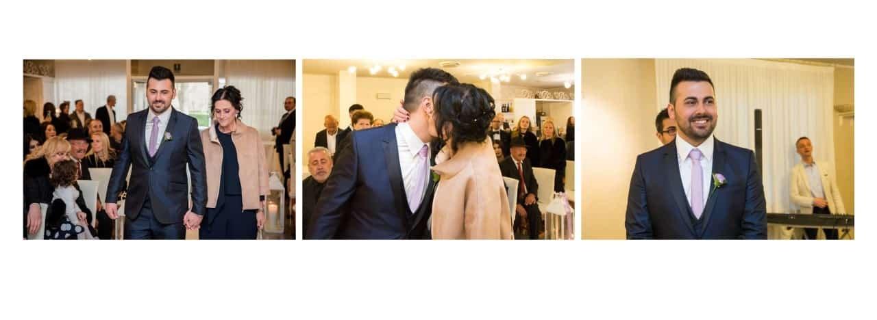 impaginazione album matrimonio Tenuta La laguna Bergamo
