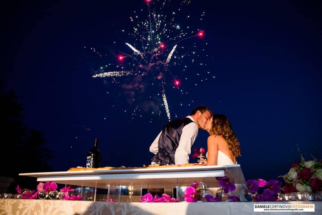 Matrimonio colle tenuta Piajo Marianna e Micheal