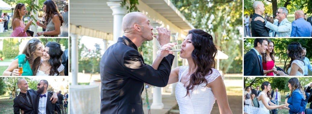Impaginazione album matrimonio Villa Belvedere