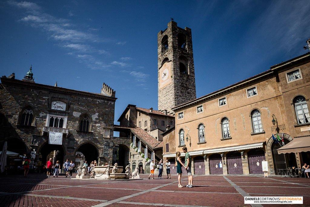 Fotografie prematrimoniali Bergamo